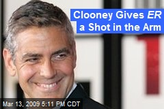 Clooney Gives ER a Shot in the Arm