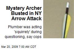 Mystery Archer Busted in NY Arrow Attack