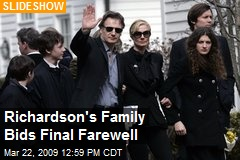 Richardson's Family Bids Final Farewell