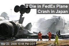 2 Die in FedEx Plane Crash in Japan