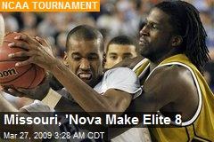 Missouri, 'Nova Make Elite 8