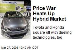 Price War Heats Up Hybrid Market