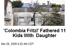 'Colombia Fritzl' Fathered 11 Kids With Daughter