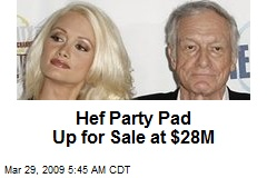 Hef Party Pad Up for Sale at $28M