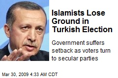 Islamists Lose Ground in Turkish Election