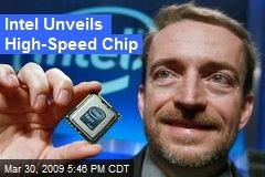 Intel Unveils High-Speed Chip