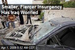 Smaller, Fiercer Insurgency Has Iraq Worried