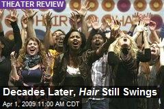 Decades Later, Hair Still Swings