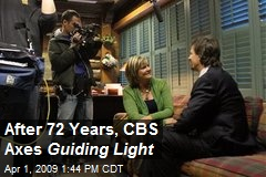 After 72 Years, CBS Axes Guiding Light