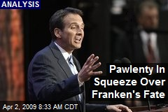 Pawlenty In Squeeze Over Franken's Fate