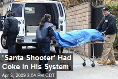 'Santa Shooter' Had Coke in His System