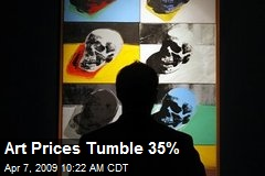 Art Prices Tumble 35%