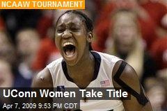 UConn Women Take Title
