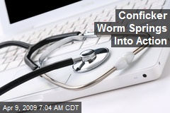 Conficker Worm Springs Into Action
