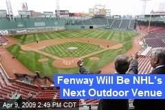 Fenway Will Be NHL's Next Outdoor Venue