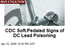 CDC Soft-Pedaled Signs of DC Lead Poisoning