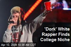 'Dork' White Rapper Finds College Niche