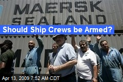 Should Ship Crews be Armed?