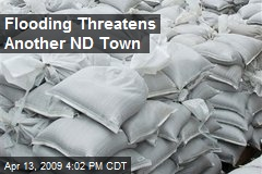 Flooding Threatens Another ND Town