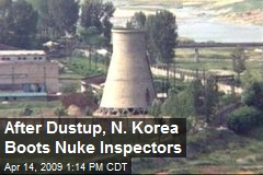 After Dustup, N. Korea Boots Nuke Inspectors