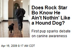 Does Rock Star Bo Know He Ain't Nothin' Like a Hound Dog?