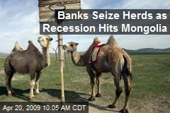 Banks Seize Herds as Recession Hits Mongolia