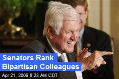 Senators Rank Bipartisan Colleagues
