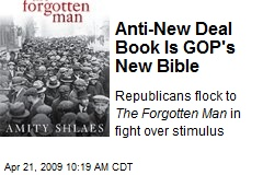 Anti-New Deal Book Is GOP's New Bible
