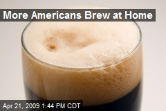 More Americans Brew at Home
