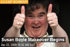 Susan Boyle Makeover Begins