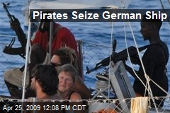 Pirates Seize German Ship