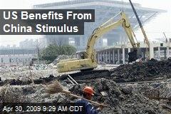 US Benefits From China Stimulus
