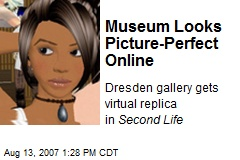 Museum Looks Picture-Perfect Online
