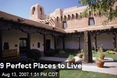 9 Perfect Places to Live