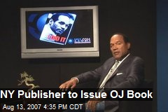 NY Publisher to Issue OJ Book