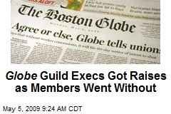 Globe Guild Execs Got Raises as Members Went Without