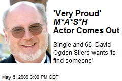 'Very Proud' M*A*S*H Actor Comes Out