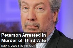 Peterson Arrested in Murder of Third Wife