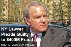 NY Lawyer Pleads Guilty to $400M Fraud