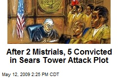After 2 Mistrials, 5 Convicted in Sears Tower Attack Plot