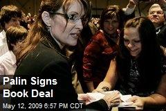 Palin Signs Book Deal