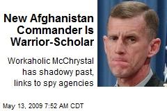 New Afghanistan Commander Is Warrior-Scholar