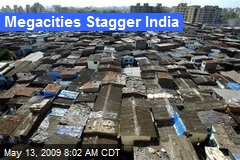 Megacities Stagger India