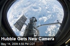 Hubble Gets New Camera
