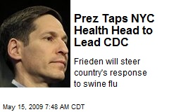 Prez Taps NYC Health Head to Lead CDC