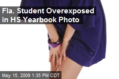 Fla. Student Overexposed in HS Yearbook Photo