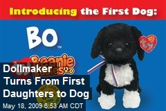 Dollmaker Turns From First Daughters to Dog