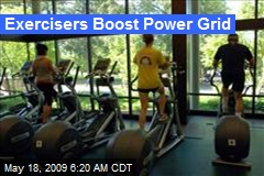 Exercisers Boost Power Grid