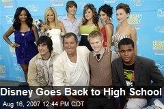 Disney Goes Back to High School