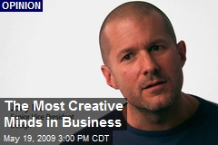 The Most Creative Minds in Business